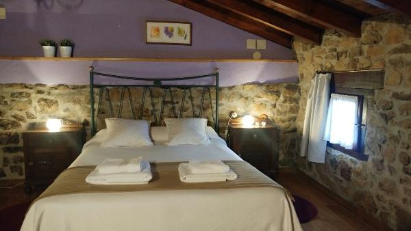 Imagen que muestra la habitación de La Casina del Fornu
