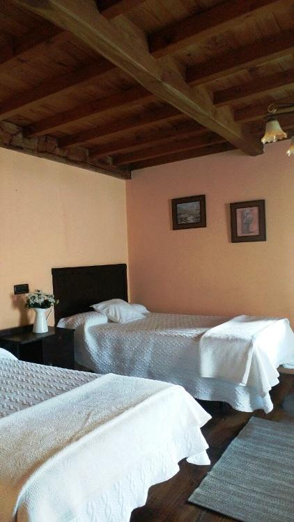 Imagen que muestra una habitación de la casona I
