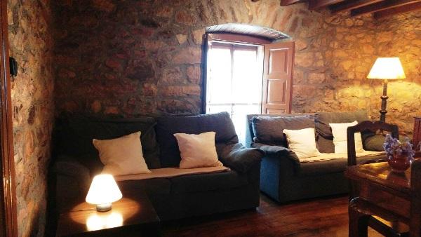 Imagen que muestra el salón de la Casona I