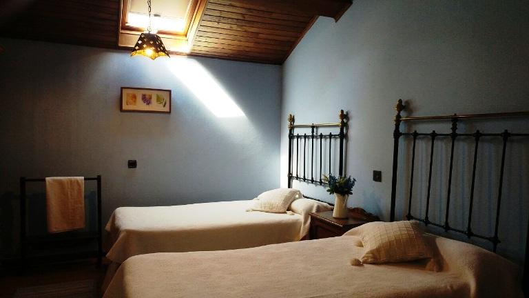 Imagen que muestra una habitación doble de la Casona I