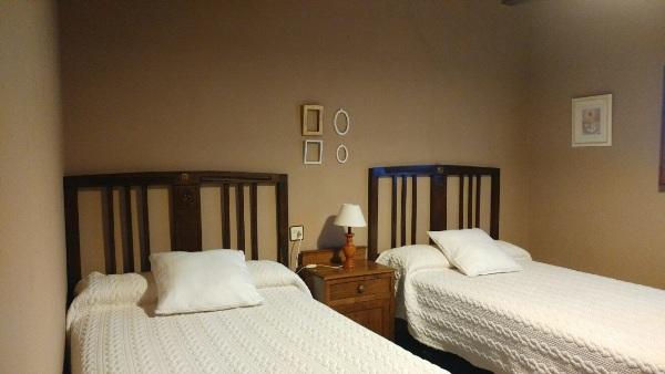 Imagen que muestra una habitación doble de la casona II